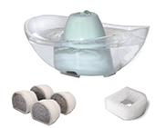 Drinkwell® Sedona Pet Fountain + Filters Bundle